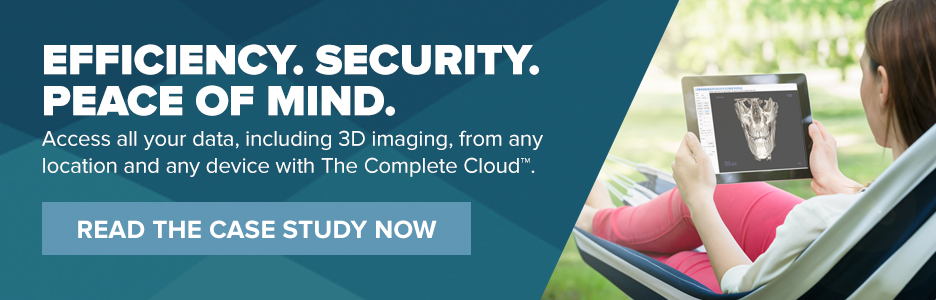 Taking Dental Data Into The Complete Cloud™: A First for i-CAT™ Tx STUDIO™ 3D Images